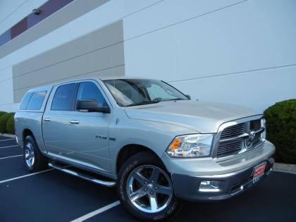 2010 DODGE RAM 1500 BIG HORN - SILVER ON GRAY