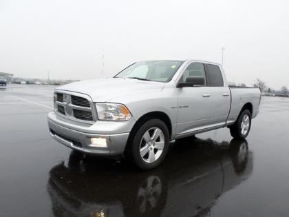 2010 DODGE RAM 1500 BIG HORN - SILVER ON GRAY 1