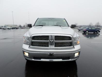 2010 DODGE RAM 1500 BIG HORN - SILVER ON GRAY 2