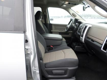 2010 DODGE RAM 1500 BIG HORN - SILVER ON GRAY 6