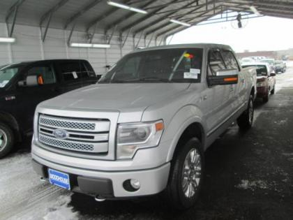 2013 FORD F-150 PLATINUM - SILVER ON BLACK