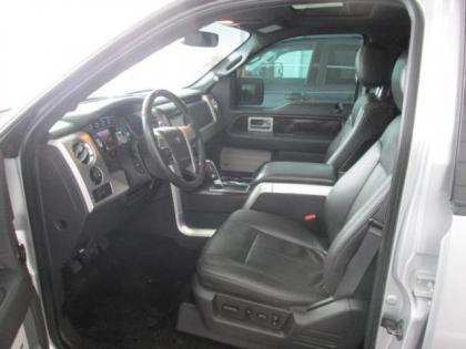 2013 FORD F-150 PLATINUM - SILVER ON BLACK 3