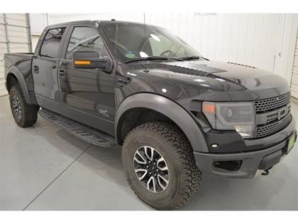 2013 FORD F-150 RAPTOR SVT - BLACK ON BLACK 3