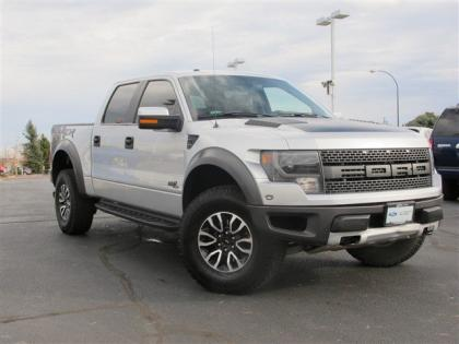 2013 FORD F-150 RAPTOR SVT - SILVER ON BLACK