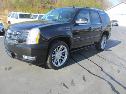 2014 CADILLAC ESCALADE PREMIUM - BLACK ON BLACK