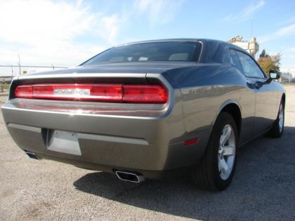 2011 DODGE CHALLENGER BASE - GRAY ON BLACK 2