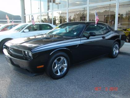 2010 DODGE CHALLENGER SE - BLACK ON GREY