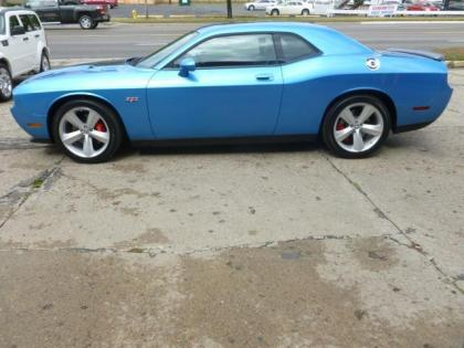 2010 DODGE CHALLENGER STR-8 - BLUE ON BLACK 2