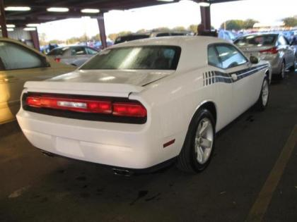 2012 DODGE CHALLENGER SXT - WHITE ON BLACK 2