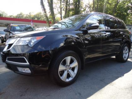 2011 ACURA MDX BASE - BLACK ON BLACK