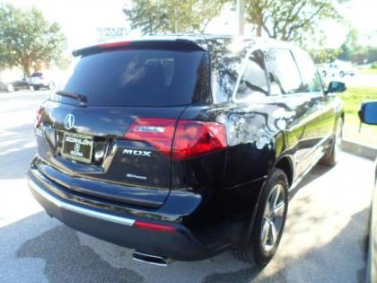 2010 ACURA MDX TECHNOLOGY PACKAGE - BLACK ON BLACK 2