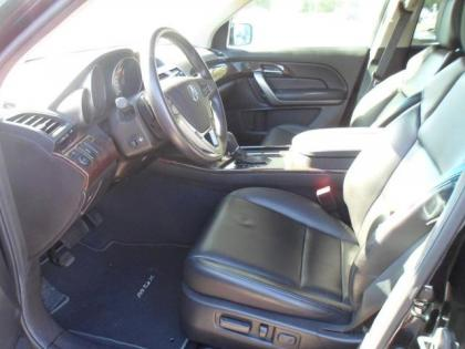 2010 ACURA MDX TECHNOLOGY PACKAGE - BLACK ON BLACK 3