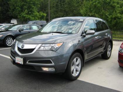 2011 ACURA MDX BASE - GRAY ON BLACK