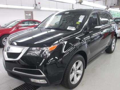 2011 ACURA MDX TECH PKG - BLACK ON BLACK