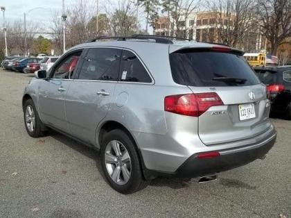 2010 ACURA MDX TECHNOLOGY PACKAGE - SILVER ON GRAY 2