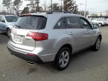 2010 ACURA MDX TECHNOLOGY PACKAGE - SILVER ON GRAY 3