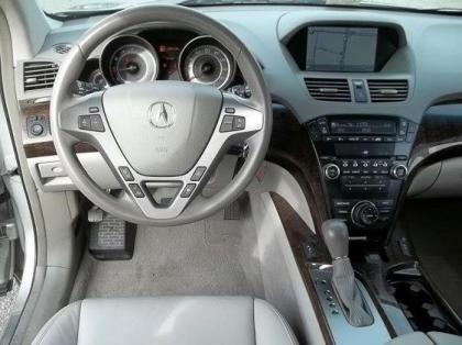 2010 ACURA MDX TECHNOLOGY PACKAGE - SILVER ON GRAY 4