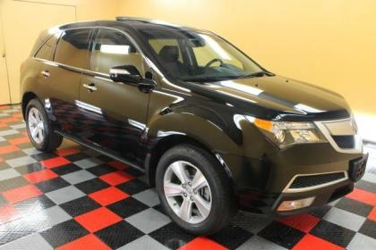 2010 ACURA MDX TECH PKG - BLACK ON BLACK