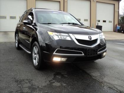 2010 ACURA MDX NAVIGATION - BLACK ON BLACK