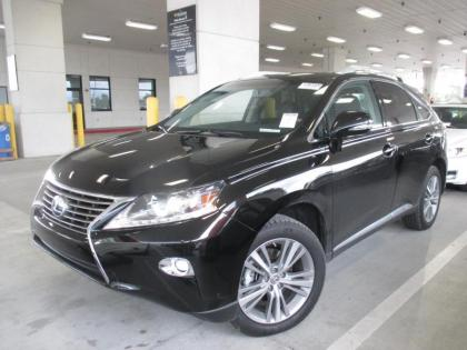 2015 LEXUS RX450 H - BLACK ON BLACK