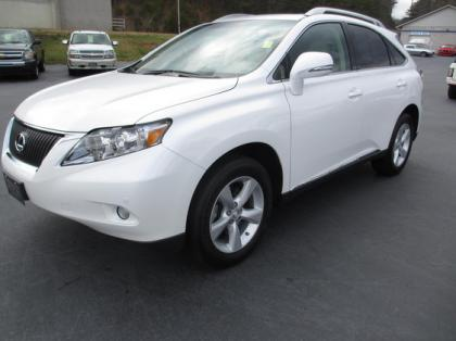 2010 LEXUS RX350 AWD - WHITE ON BEIGE