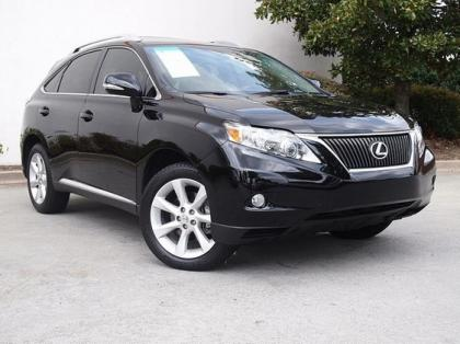 2011 LEXUS RX350 BASE - BLACK ON BLACK