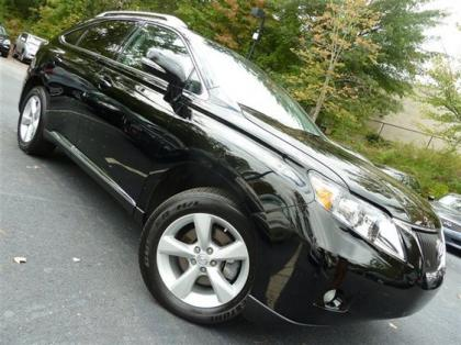 2012 LEXUS RX350 BASE - BLACK ON BLACK