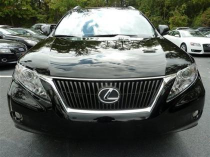 2012 LEXUS RX350 BASE - BLACK ON BLACK 2