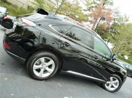 2012 LEXUS RX350 BASE - BLACK ON BLACK 3