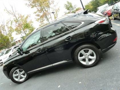 2012 LEXUS RX350 BASE - BLACK ON BLACK 4