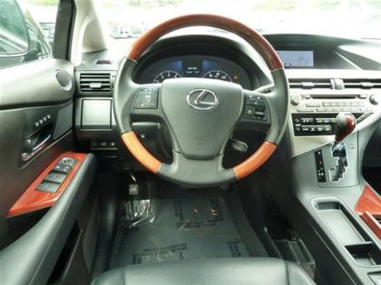 2012 LEXUS RX350 BASE - BLACK ON BLACK 5