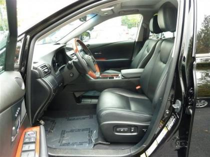 2012 LEXUS RX350 BASE - BLACK ON BLACK 7