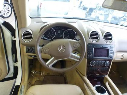 Export Used 2010 MERCEDES BENZ ML350 4MATIC - WHITE ON BEIGE