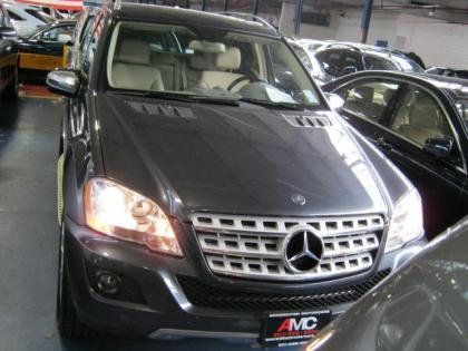 2010 MERCEDES BENZ ML350 4MATIC - GRAY ON BEIGE 1