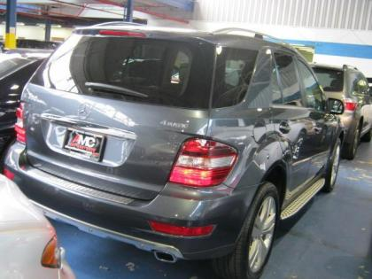 Export used 2010 mercedes benz ml350 4matic gray on beige for Mercedes benz ml350 4matic 2010