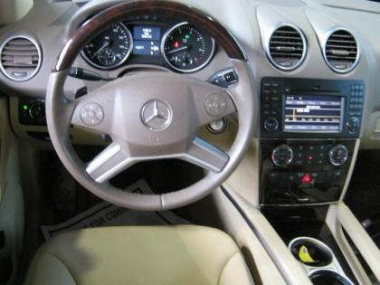 2010 MERCEDES BENZ ML350 4MATIC - GRAY ON BEIGE 8