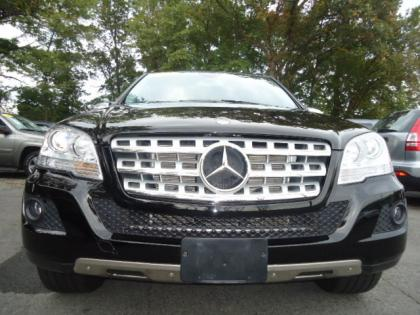 2010 MERCEDES BENZ ML350 4MATIC - BLACK ON BLACK 1