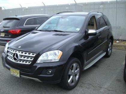 2010 MERCEDES BENZ ML350 4MATIC - BLACK ON BEIGE