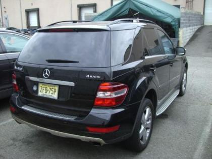 Export Used 2010 Mercedes Benz Ml350 4matic Black On Beige