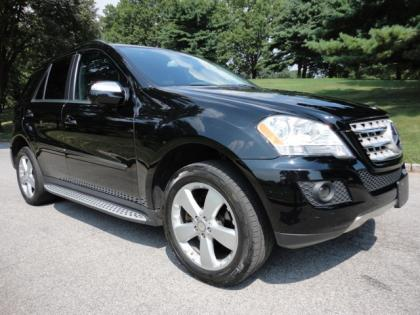 2010 MERCEDES BENZ ML350 4MATIC - BLACK ON BLACK 2
