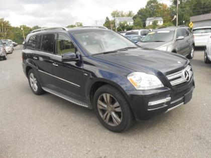 2012 MERCEDES BENZ GL350 BLUETEC 4MATIC - BLUE ON BEIGE