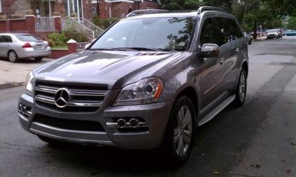 2010 MERCEDES BENZ GL350 BLUETEC 4MATIC - GRAY ON BEIGE