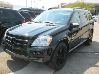 2010 MERCEDES BENZ GL350 BLUTEC - BLACK ON BLACK