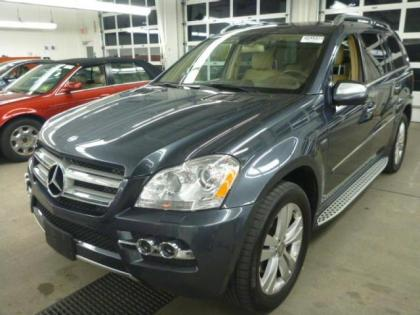 2010 MERCEDES BENZ GL350 BLUETECH - GRAY ON BEIGE