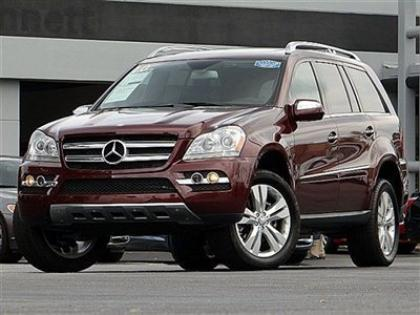 2010 MERCEDES BENZ GL350 BLUETECH - MAROON ON BLACK