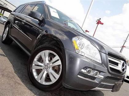 2011 MERCEDES BENZ GL350 4MATIC - GRAY ON BLACK