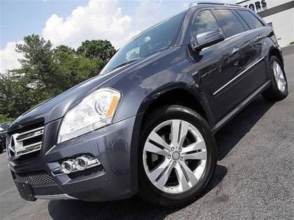 2011 MERCEDES BENZ GL350 4MATIC - GRAY ON BLACK 2