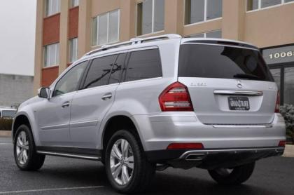 2010 MERCEDES BENZ GL350 BLUETECH - SILVER ON BLACK 2