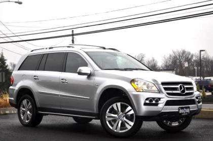 2010 MERCEDES BENZ GL350 BLUETECH - SILVER ON BLACK 3