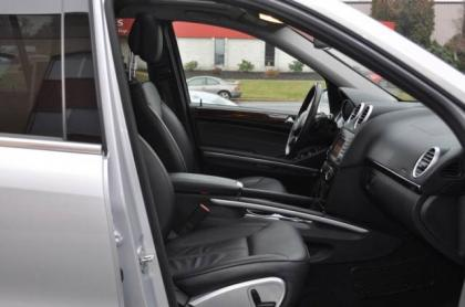 2010 MERCEDES BENZ GL350 BLUETECH - SILVER ON BLACK 5